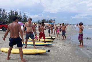 Após o Boqueirão norte e o Boqueirão Sul, Arena Esportiva Itinerante  estará sexta 17/01, na praia do balneário Adriana