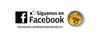 Síguenos en facebook, Líder En Pronósticos