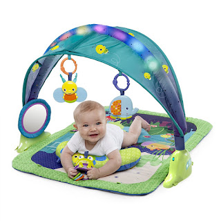 save £5.99 from rate, get Bright Starts Light Up Lagoon Activity Gym price £28.99