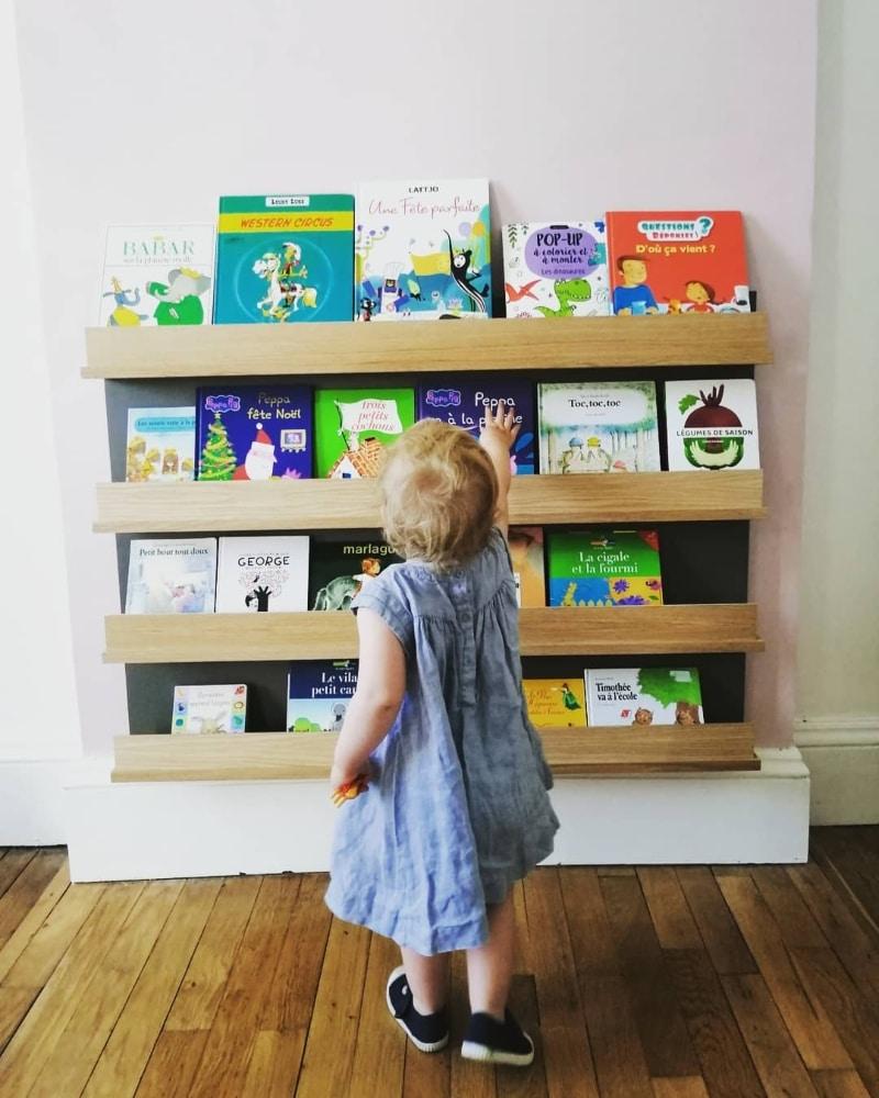 bibliothèque enfant
