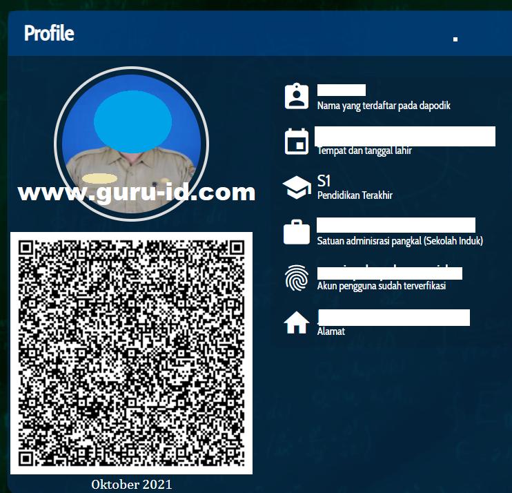 gambar foto profil info gtk