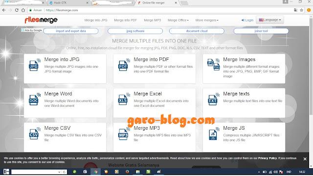 Cara Menggabungkan File jpg Menjadi Satu File Untuk PPG Dalam Jabatan 2019