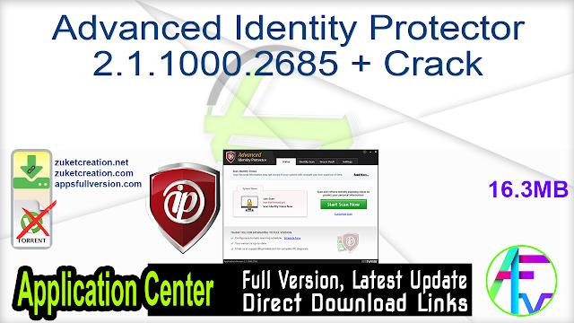 Advanced Identity Protector 2.1.1000.2685 + Crack
