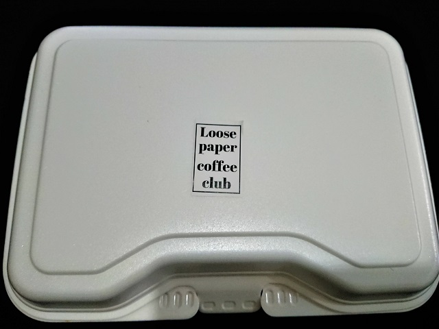 LOOSE PAPER COFFEE CLUB デリ弁当 チキンのトマトクリーム煮