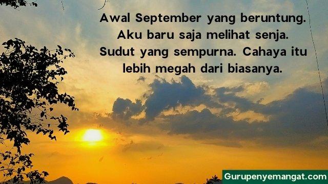 Puisi Senja di Bulan September