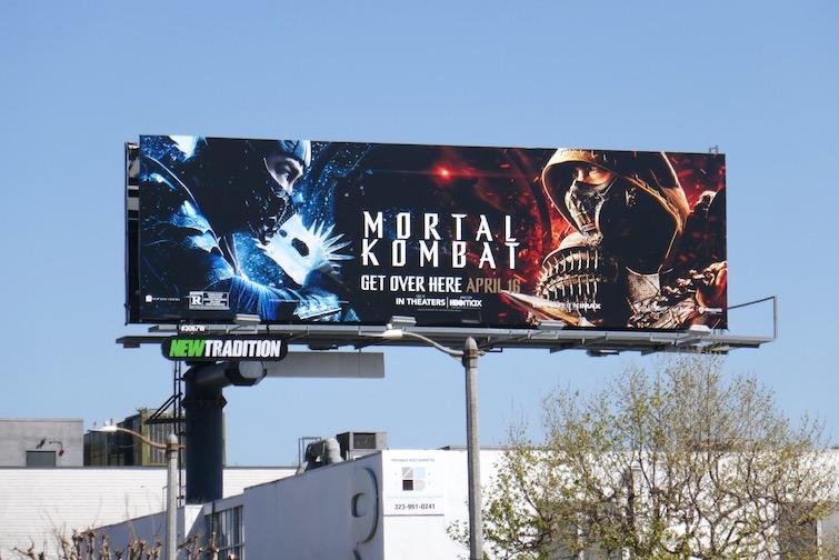 Mortal Kombat film billboard