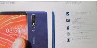 موعد اطلاق هاتف Nokia 3.1 Plus الجديد