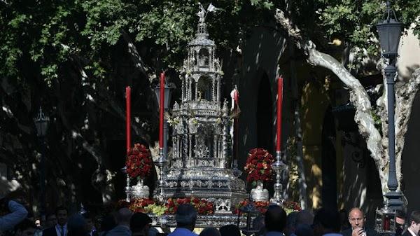Horarios e Itinerarios de los Corpus de los barrios de Sevilla