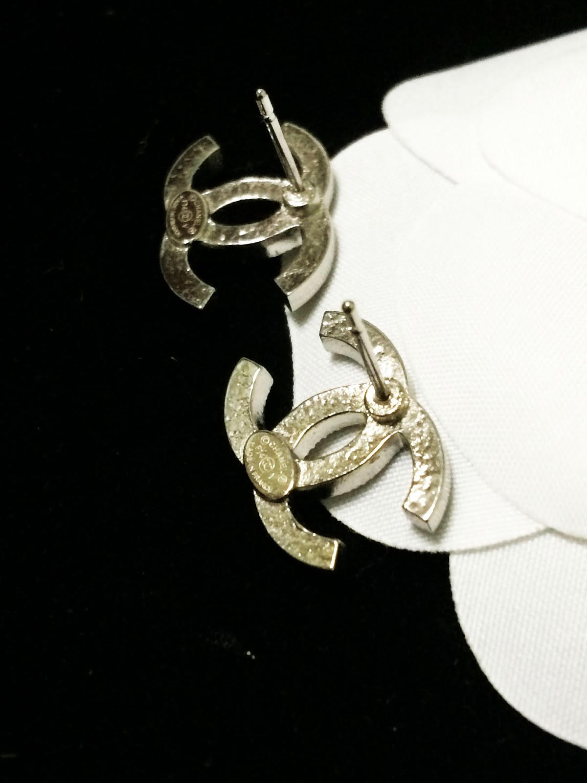 Chanel Earring Review: AUTHENTIC CHANEL EARRINGS CLASSIC ...