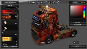 Temptress Skin for Volvo 2013
