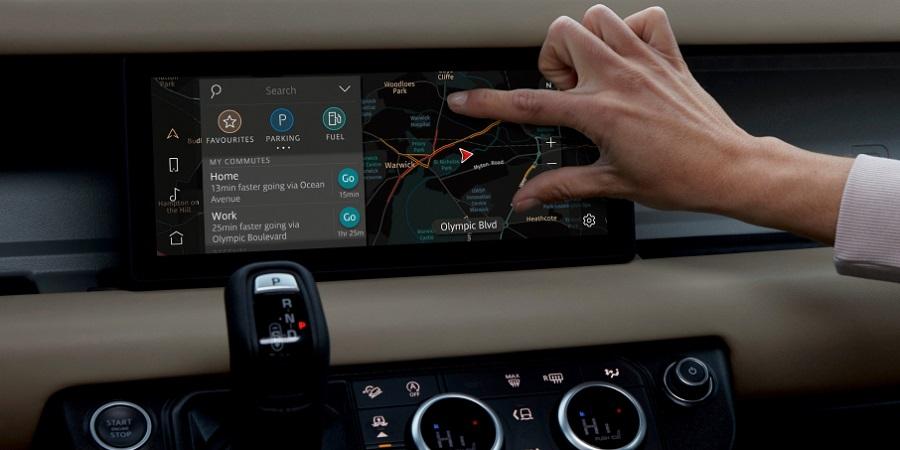 Hệ thống thông tin giải trí màn hình cảm ứng Pivi Pro mới