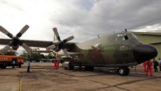 TNI Angkatan Udara : Pesawat Hercules Yang Mogok Telah Dibawa Ke Hanggar - Commando