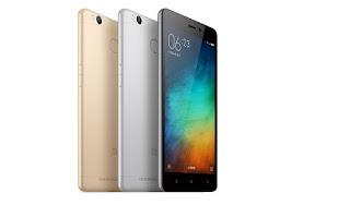 Spesifikasi Handphone Xiaomi Redmi 3s Pro
