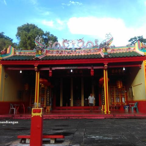 Ang Nio Temple in Senggarang Tanjungpinang