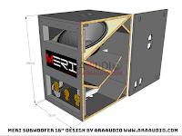 Skema Box MERI 18 Horn Subwoofer
