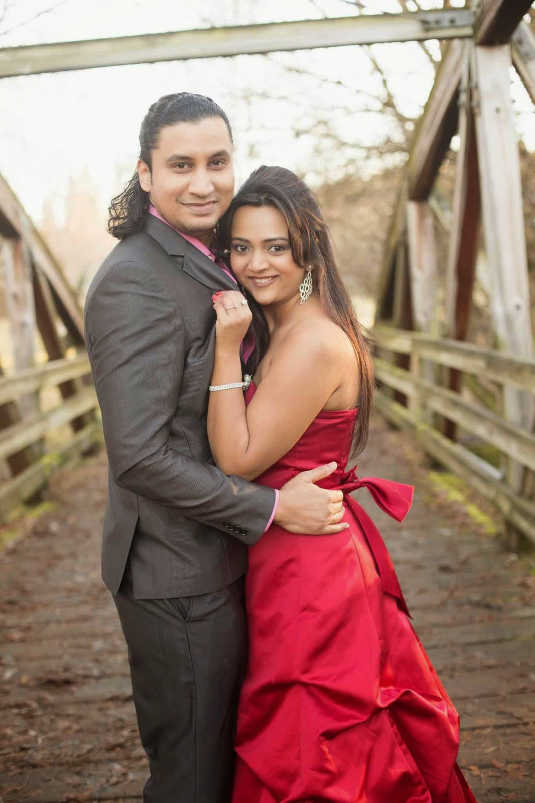 pre wedding shoots, Indian couple in love, Girl in red gown, Couple shoot, Ananya's wedding pictures