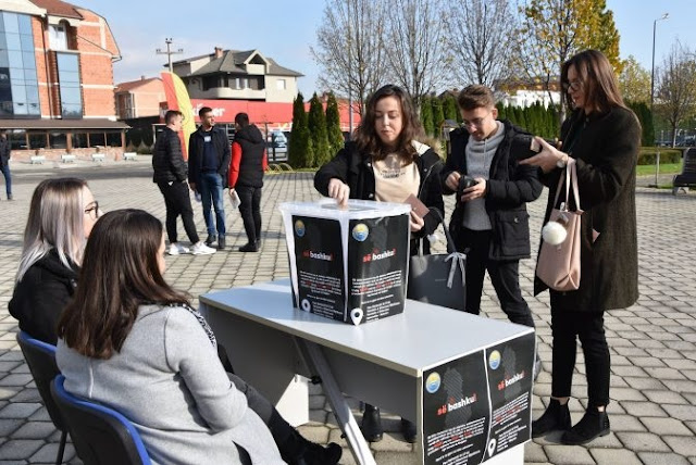 Tetovo University students donate 6,000 euros to families affected by the earthquake in Albania