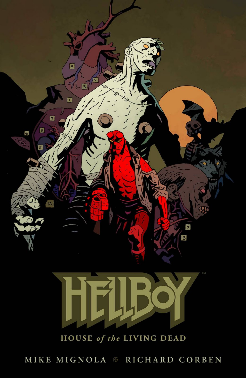 Forever Overhead: Review: Hellboy: House of the Living Dead