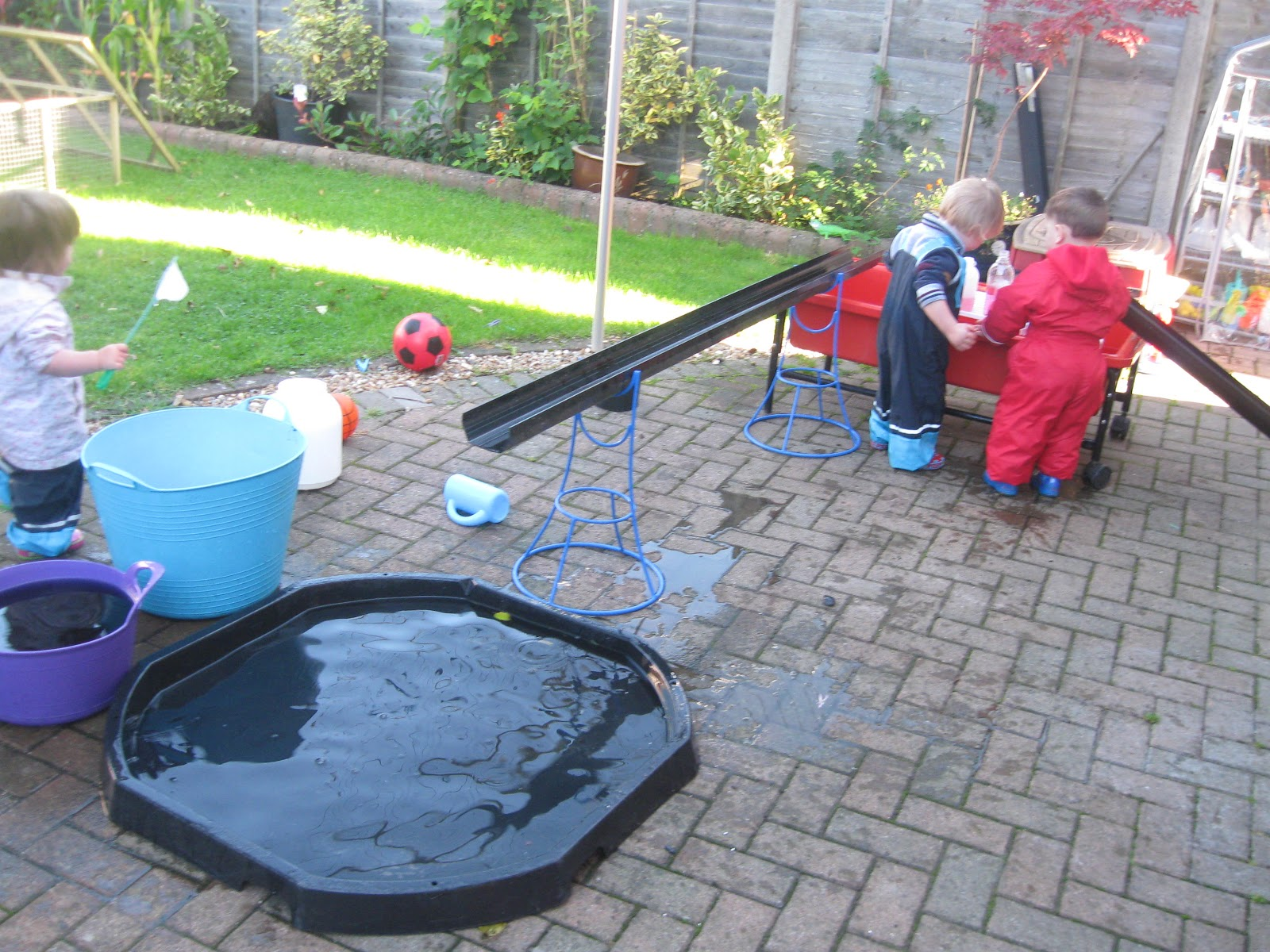 more water play pre school play