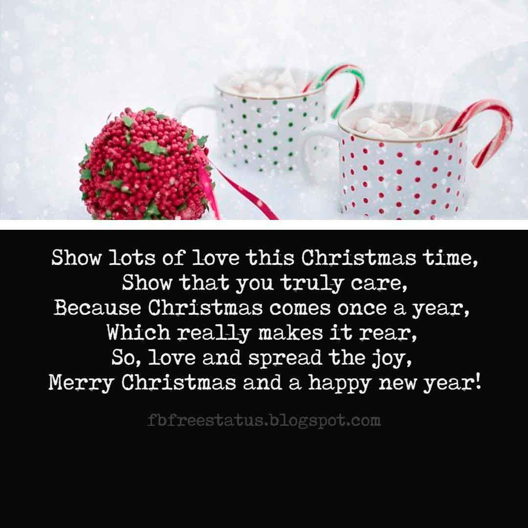 Christmas Love Quotes, Card, Messages