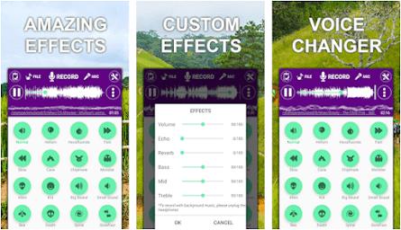 Aplikasi Voice Changer Sound Effects