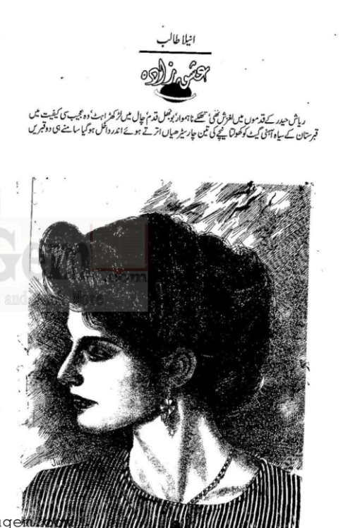 Ishq zada novel online reading by Anila Talib Complete