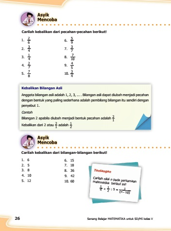 kunci jawaban buku senang belajar matematika kelas 5  halaman 26