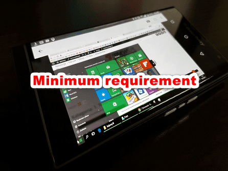 Minimum Requirement Untuk Instal Windows 10