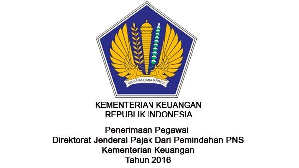 DIREKTORAT JENDRAL PAJAK : CALON PEGAWAI DIRJEN PAJAK - PNS, ACEH INDONESIA