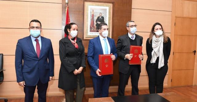 التوقيع على اتفاقية شراكة لتاهيل المؤسسات التعليمية المجاورة للطرق السيارة بالمغرب