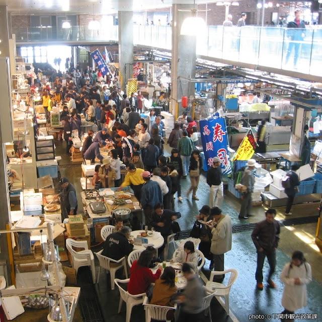 【唐戶市場】趁周末來才有超多美食的魚市場