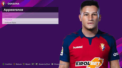 PES 2020 Faces Chimy Avila by Rachmad ABs
