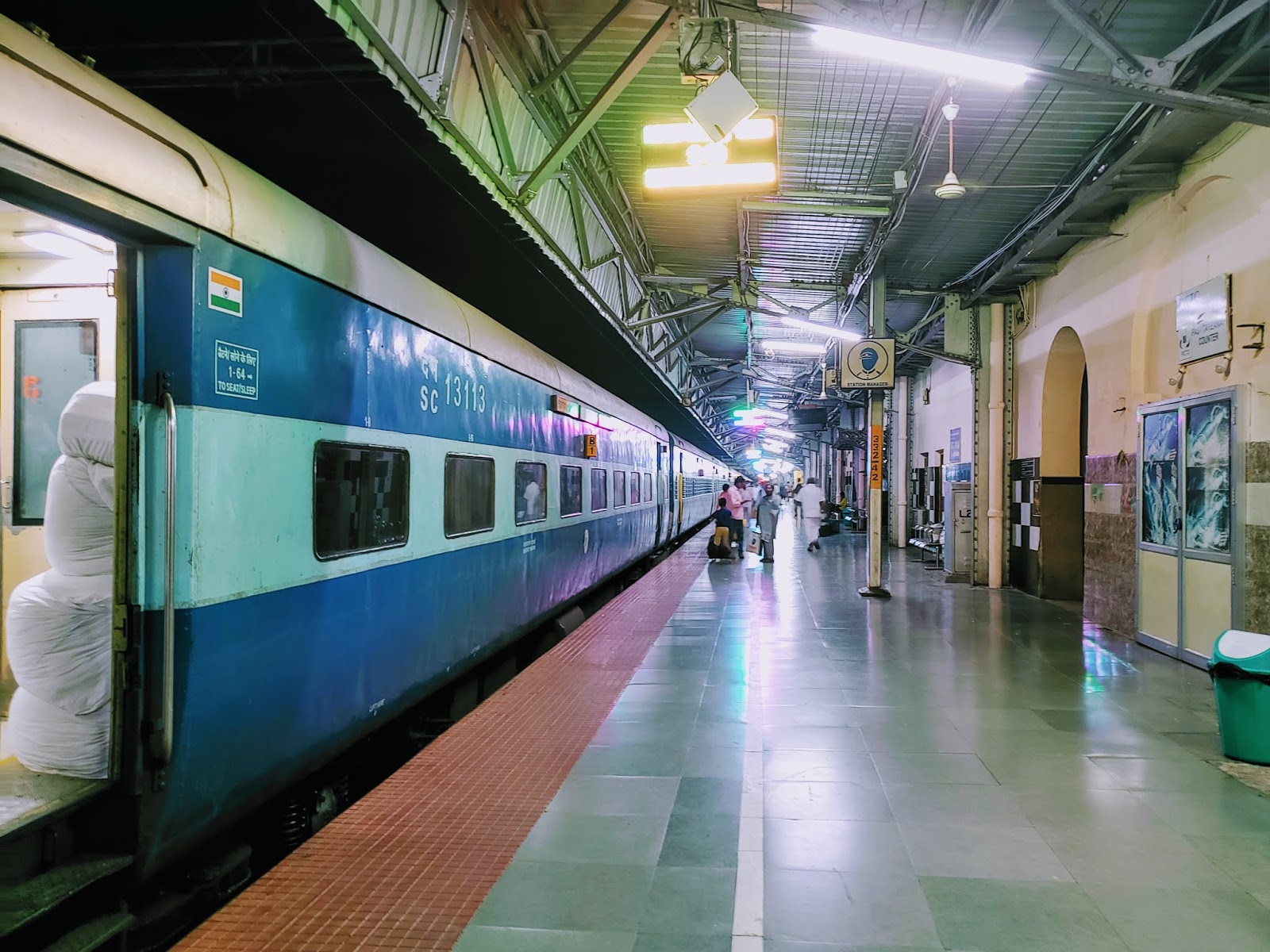 Shining Platform at Salem Junction
