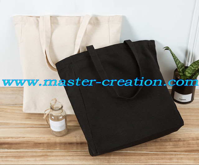black canvas bag