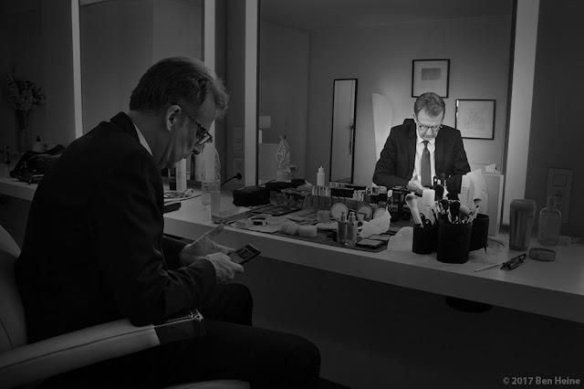 François de Brigode - Présentateur journal RTBF et Photographe - Portrait par Ben Heine 2017