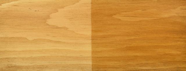 aplikasi cat lilin pada kayu