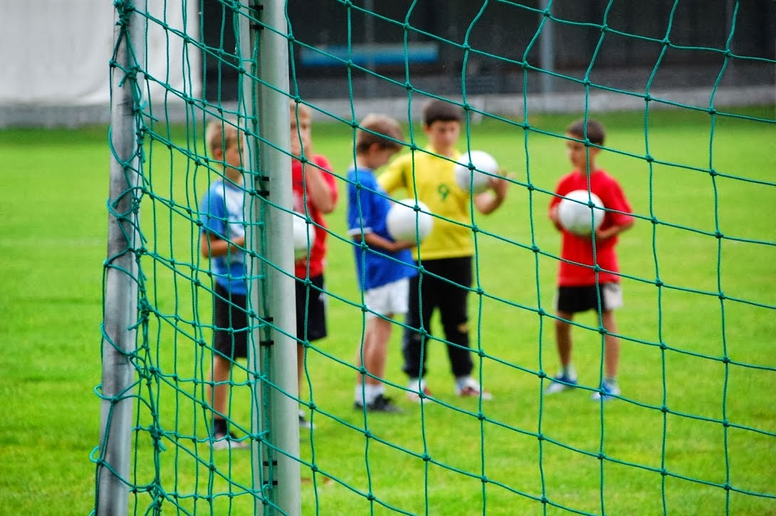 Image result for child football training