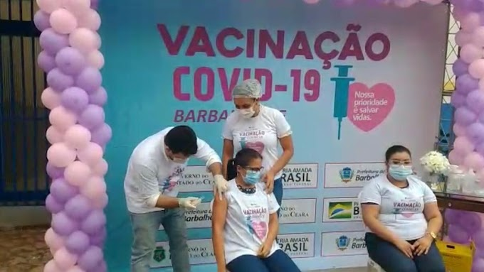 Começa a vacinação contra a Covid-19 no Cariri
