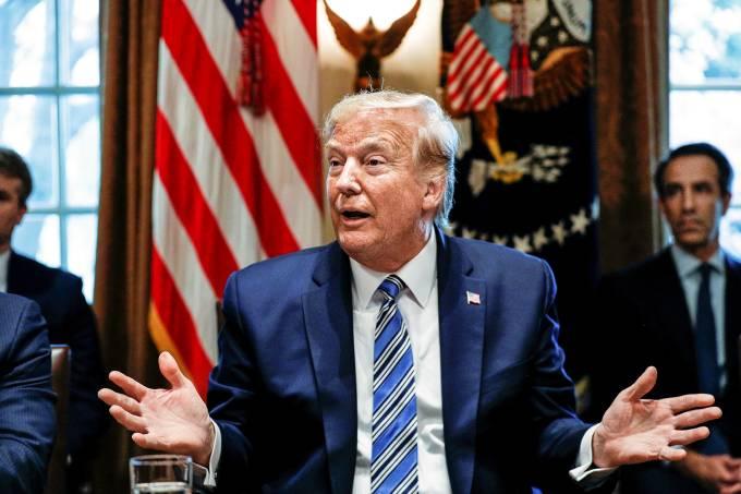 Donald Trump fará anúncio sobre reabertura dos EUA nos próximos dias, diz governo