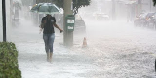 Chuva forte no Brasil