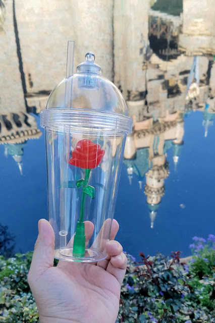 Sasaki Time Beauty And The Beast Rose Sipper From Disneyland
