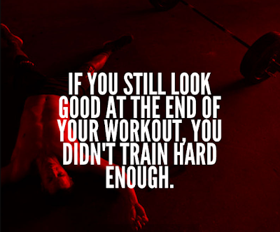 Train Hard Gym Quotes
