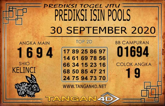 PREDIKSI TOGEL ISIN TANGAN4D 30 SEPTEMBER 2020