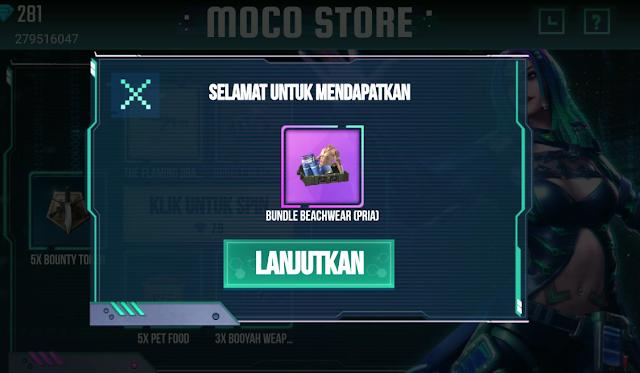 Trik Event Moco Store 1 Kali Spin Satu Bundle Permanen