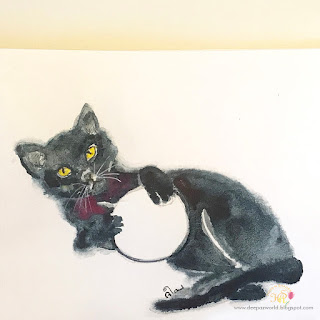Inktober-Cats-Day8-HuesnShades