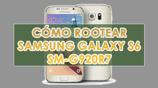 Cómo ROOTEAR Samsung Galaxy S6 SM-G920R7