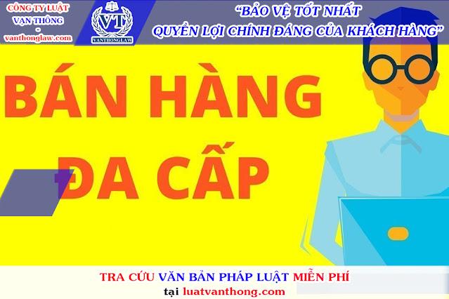 Quản lý Nhà nước đối với bán hàng đa cấp ở Việt Nam.
