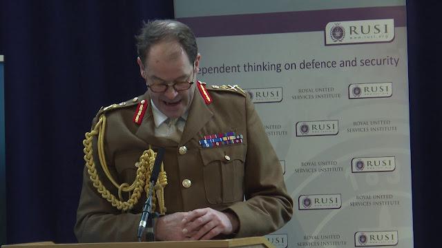 British Strategic Command Commander Patrick Sanders