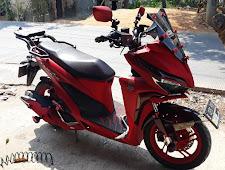 Modifikasi Honda Vario 150cc Bergaya Adventure