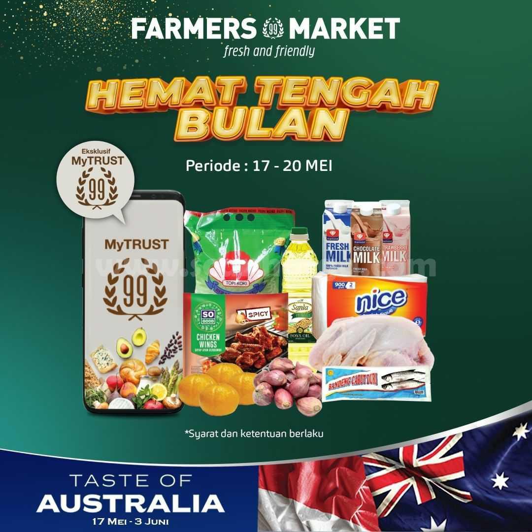 Promo Farmers Market Hemat Tengah Bulan dengan MyTRUST